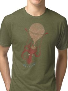 Around the World in 20,000 Leagues Tri-blend T-Shirt