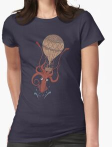 Around the World in 20,000 Leagues Womens Fitted T-Shirt