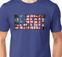 demexit american flag Unisex T-Shirt