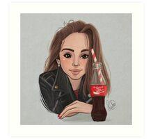 Selena Art Print