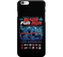 Blade Fun-Run for Displaced Replicants iPhone Case/Skin
