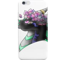 Flower Crowned Dragon  iPhone Case/Skin
