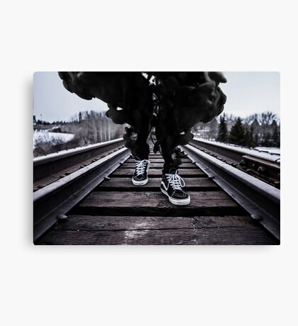 Dark Smoke  Canvas Print