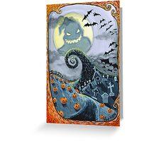 Boogies Moon Greeting Card