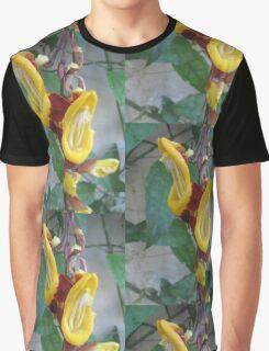Yellow Flora Graphic T-Shirt