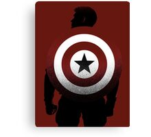 American Hero Canvas Print