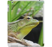 The Frog iPad Case/Skin