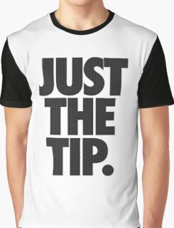 JUST THE TIP. - Chevron Texture Graphic T-Shirt