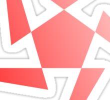 Pentagon & Triangles Sticker