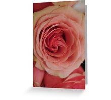 Rose Up Close Greeting Card