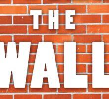 Build the wall donald trump Sticker