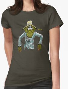 Scarecrow skeleton Womens Fitted T-Shirt