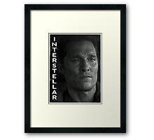 Interstellar Framed Print