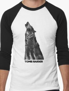 Tomb Raider - Lone Wolf Men's Baseball ¾ T-Shirt