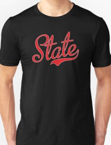 State Script Red  T-Shirt