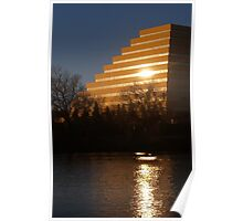 West Sacramento Pyramid Poster