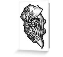 Heart of the Wolf Greeting Card