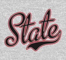 State Script Black  by Carolina Swagger