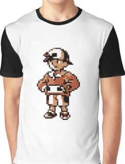 Gold (Trainer) - Pokemon Gold & Silver Graphic T-Shirt