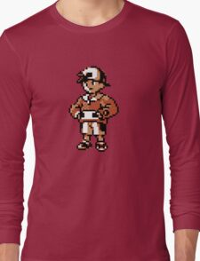Gold (Trainer) - Pokemon Gold & Silver Long Sleeve T-Shirt