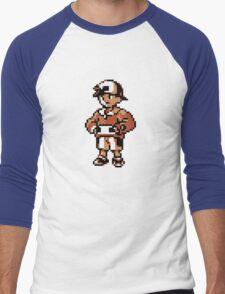 Gold (Trainer) - Pokemon Gold & Silver Men's Baseball ¾ T-Shirt