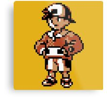 Gold (Trainer) - Pokemon Gold & Silver Metal Print