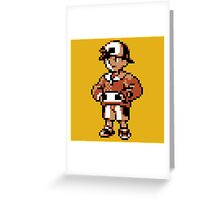 Gold (Trainer) - Pokemon Gold & Silver Greeting Card