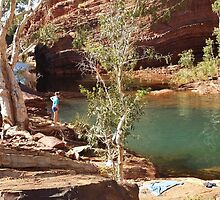 Hamersley Gorge by Nicola Morgan