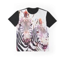 Group of Zebras Graphic T-Shirt