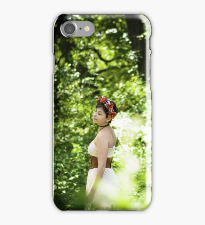 A Stroll Through the Forest iPhone Case/Skin