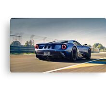 Ford GT 2016 Canvas Print