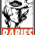 Amaterasu Rabies Obey Design by SquallAndSeifer