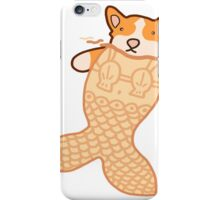 Mermaid Corgi iPhone Case/Skin