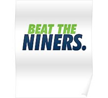 Beat the Niners Poster