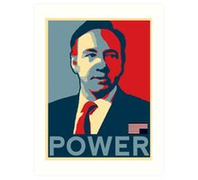 Frank  Underwood Art Print