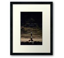 Fire Island Light. Framed Print