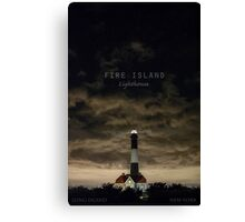 Fire Island Light. Canvas Print