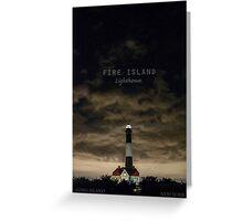Fire Island Light. Greeting Card
