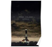 Fire Island Light. Poster