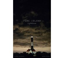 Fire Island Light. Photographic Print