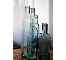 Overlapping Bottles Photographic Print