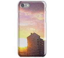 Mi ciudad. Atardecer.                            iPhone Case/Skin
