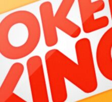 Poker king Sticker