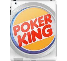 Poker king iPad Case/Skin
