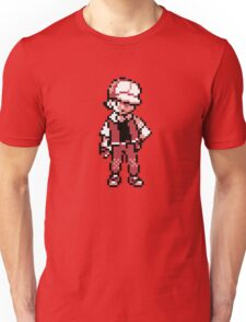 Red (Trainer) - Pokemon Gold & Silver Unisex T-Shirt
