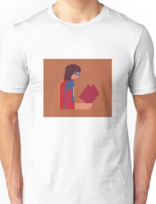 Ms. Lady Reads Unisex T-Shirt