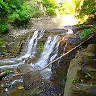 Cascadilla Gorge Waterfall by sherriescustoms