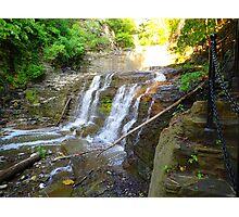 Cascadilla Gorge Waterfall Photographic Print
