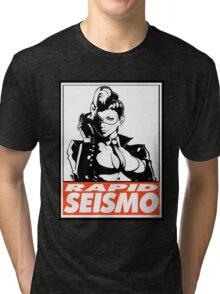 Crimson Viper Rapid Seismo Obey Design Tri-blend T-Shirt