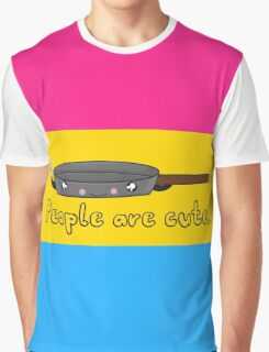 Pansexual Cartoon Tee (LGBTQ+) Graphic T-Shirt